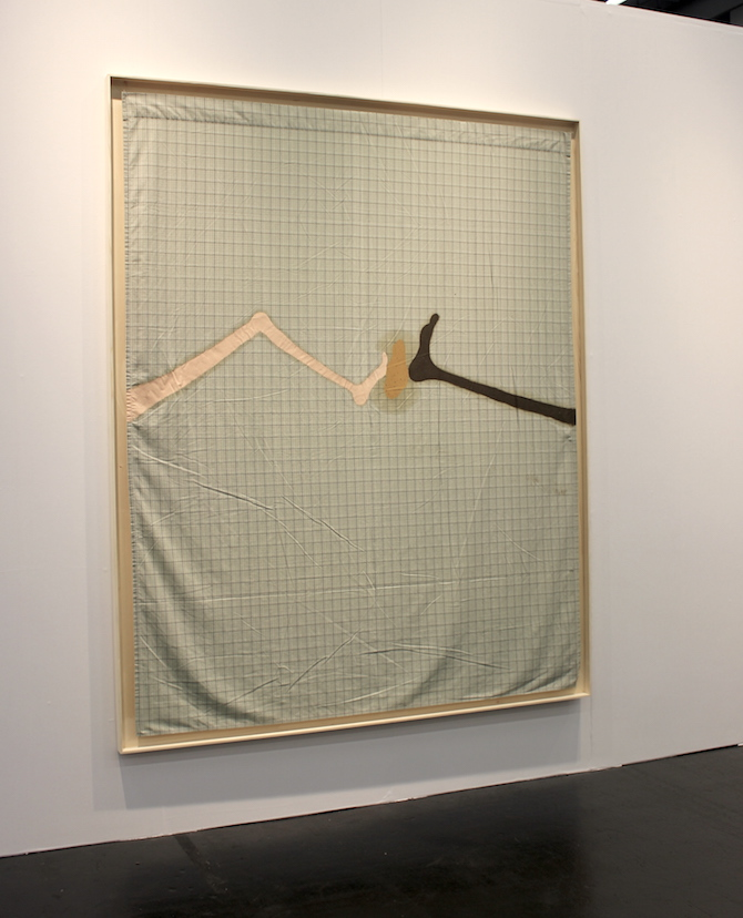 Florian Meisenberg at booth Wentrup, Berlin