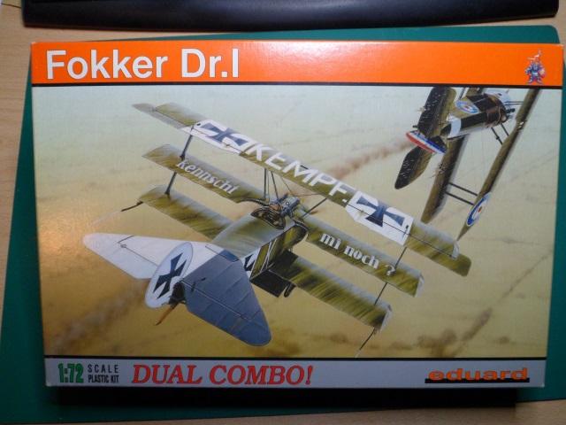 Ouvre-boîte Fokker DR.I  [Eduard 1/72] 16551071613_2f2383fe19_o