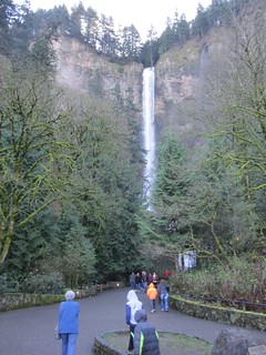 Multnomah Falls runneth over