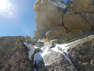The Notch Rocks on the East Ridge