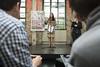 Generalsekretärin Yasmin Fahimi eröffnete das Barcamp in der Kalkscheune.