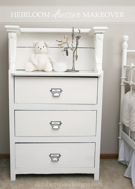 Heirloom Dresser Makeover