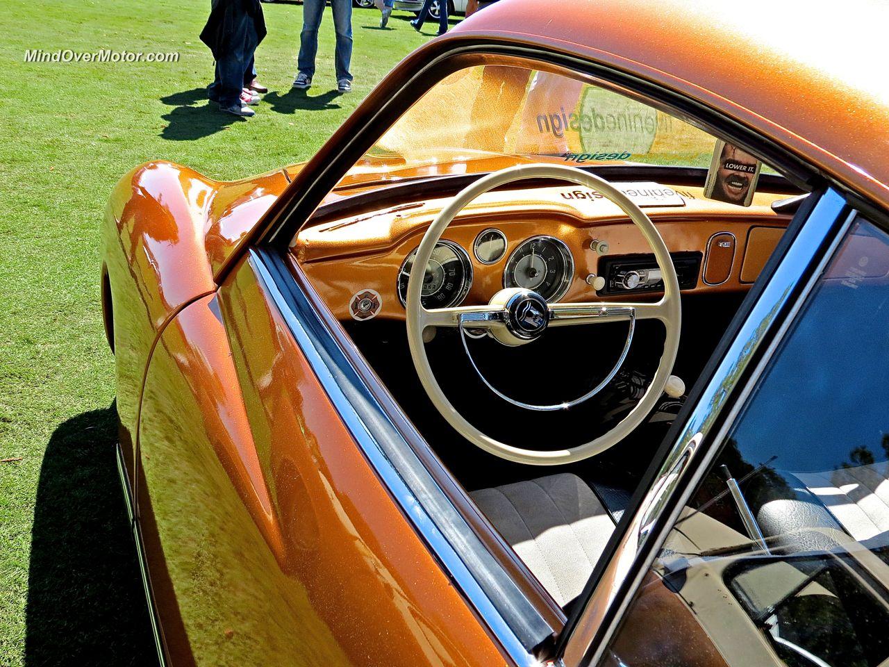 Slammed VW Ghia Interior