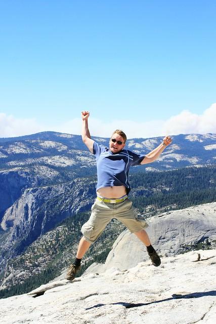Iiro kiipesi Half Domelle