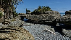 Conglomerate Shoreline ~ Motukiekie, West Coast