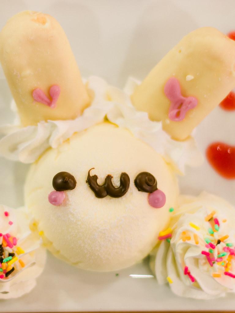 @Home Café Akihabara Cutie Bunny Cheese Cake