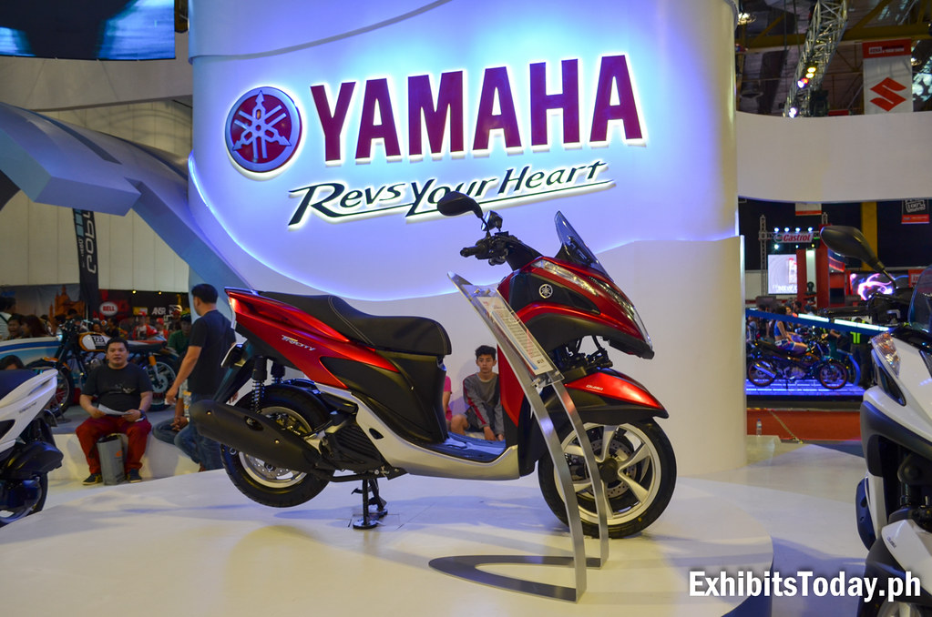 Yamaha Tricity Display