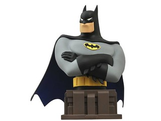 Diamond Select Toys【動畫版蝙蝠俠】Batman Bust Bank 來自高譚市的銅板守護者!!
