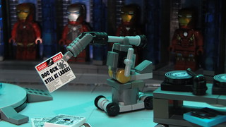 Lego Custom Hall of Armor