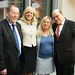 Achim Barchmann mit EU-Kommissarin Corina Cretu und den Kollegen Gabi Groneberg und Norbert Spinrath