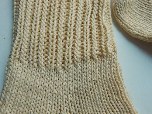 носки от мыска хлопковые резинка