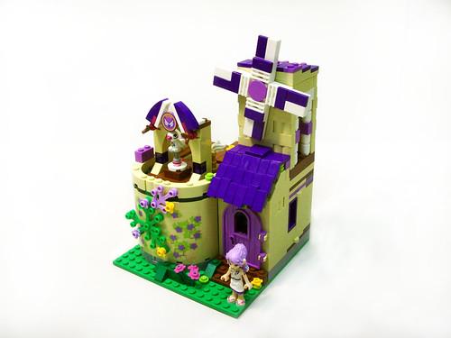 lego elves treetop hideaway instructions
