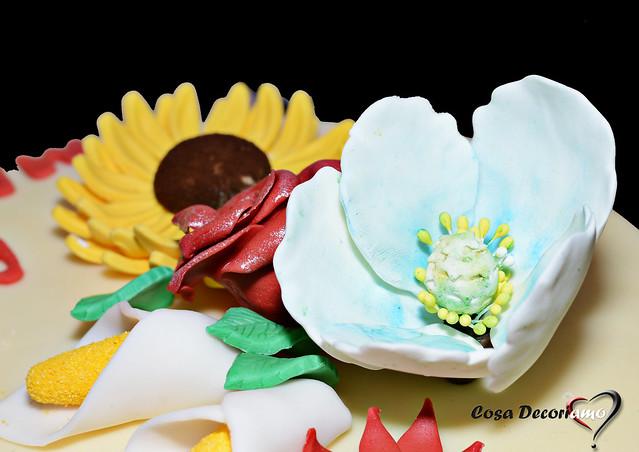 Torte - 90 - Torta Fiori