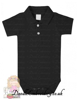 Polo Body Suit - Black copy