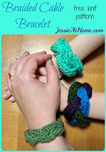 Braided-Cable-Bracelet-Free-Knit-Pattern-by-Jessie-At-Home