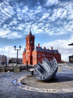 Maritime Memorial and Pierhead Building, Cardiff Bay