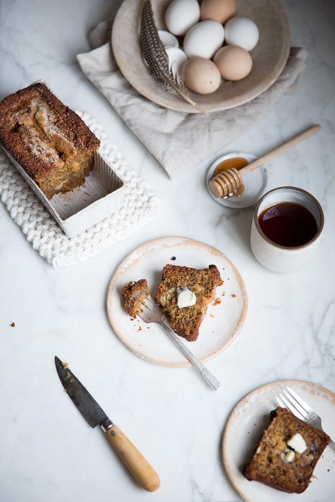 红糖香蕉面包从紫罗兰面包店食谱