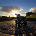 Calton Hill Cannon by Kyoshi Masamune
