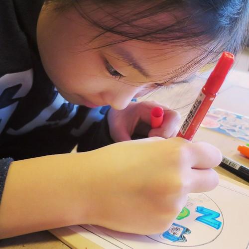 絵を描く人。 #日光江戸村 #edowonderland