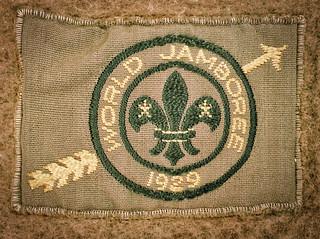 Scout badge world jamboree 1929