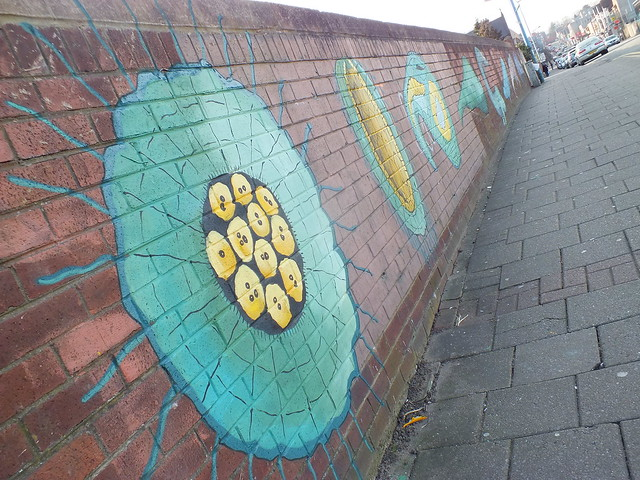 Crwys Road street art, Cardiff