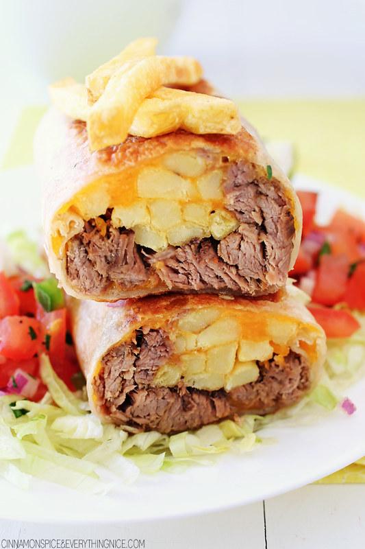 Carne Asada California Burritos