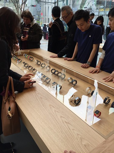 Apple Watch @omotesando