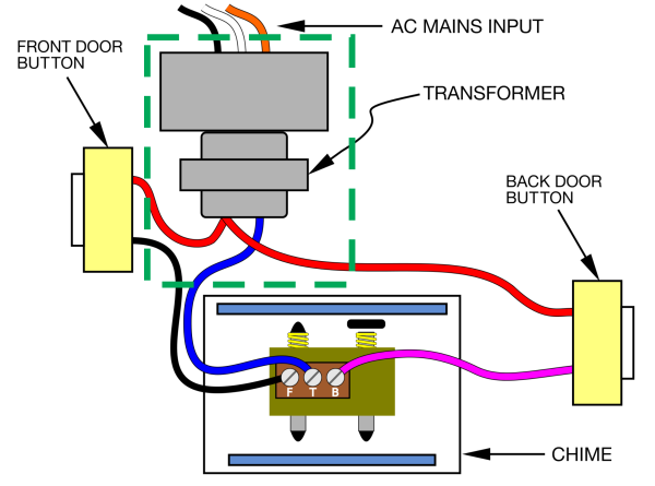 doorbell moteino awesome lowpowerlab rh lowpowerlab com Lighted Doorbell Wiring Doorbell Wiring Illustration