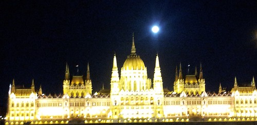Full Moon over Parliament