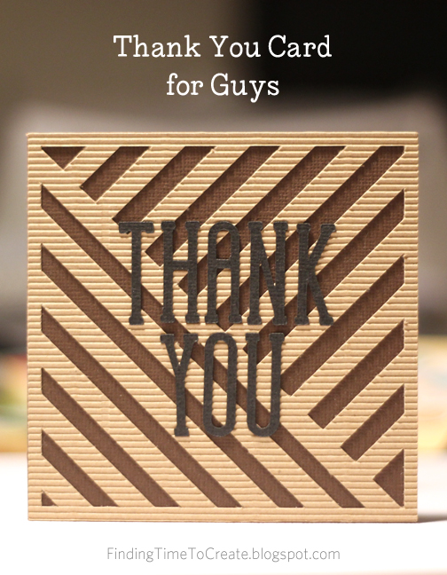 Thank You Card Tacti-cool by Kelly Wayment