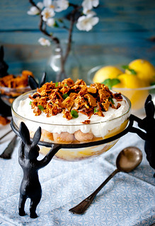 LEMON AND HONEYCOMB TRIFLE