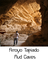 Arroyo Mud Caves