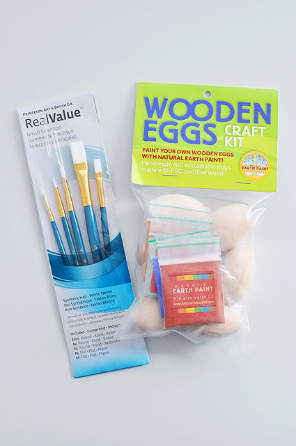 Craft Kit & Paint Brushes