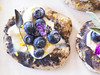 JACKIE ALPERS FOOD PHOTOGRAPHY: CHOCOLATE BLUEBERRY DESSERT PIZZA