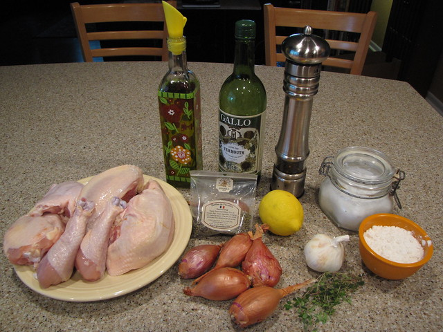 Chicken Provencal Ingredients