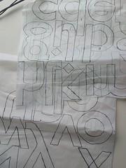 Alphabet Applique