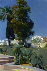 Corner of the Garden, Alcazar, Sevilla