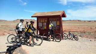 MOAB Brands Mountain Biking Area - home of some choice mountain biking!