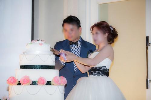 推薦婚宴場地:台南商務會館,米老鼠米奇的特殊結婚婚禮風格蛋糕塔儀式