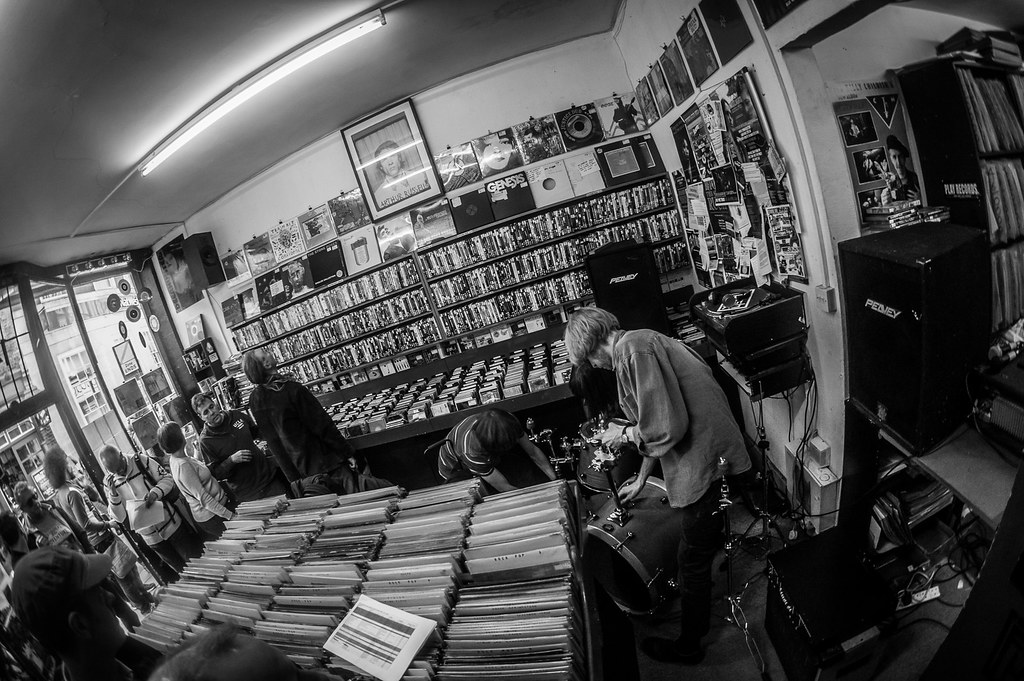 Record Store Day Walk: The Abjects at Flashback Records