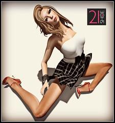 21 Shoe Eclectica dandelion (slnk high feet) - coldLogic Fey