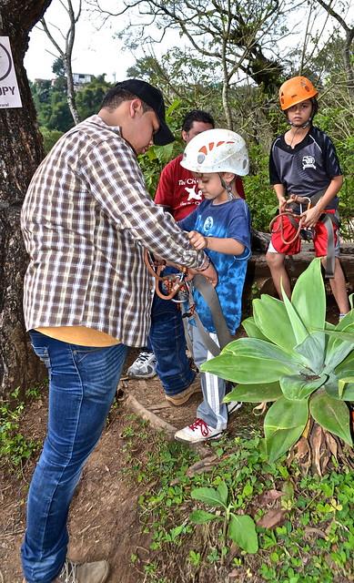 Canopy tour - Green Rush Nature Park, Guatemala