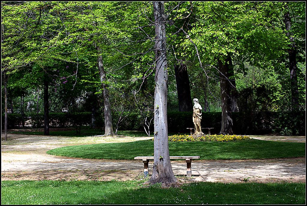 una mañana de abril en los Jardines del Príncipe