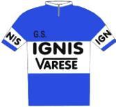 Ignis - Varese - Giro d'Italia 1956
