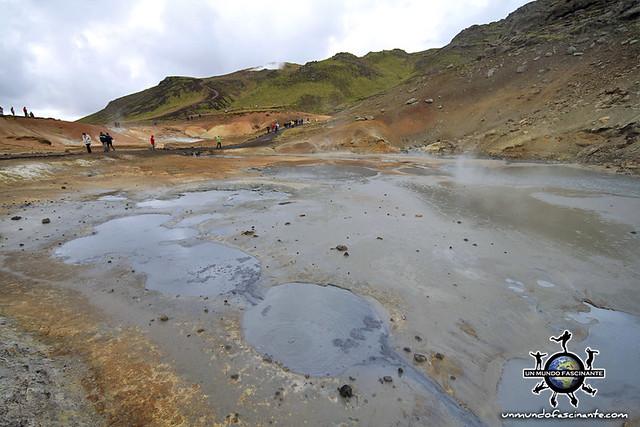 ISLANDIA - Seltún, Krýsuvík