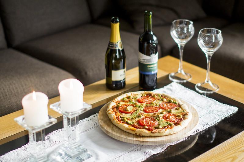 Pizza med Oda