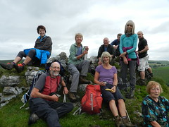 The team on Parkhouse Hill