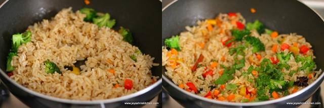 brown-rice pulao