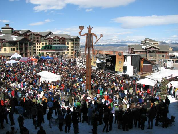 Spring party time at Park City