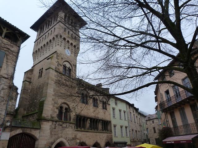 Torre de Saint-Antonin-Noble-Val (Tarn-et-Garonne, Francia)